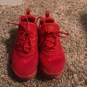 Red Nike Presto Size 4